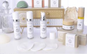 Séléction de produits de soin visage pour les femmes de la marque Neith Cosmétique à offrir pour un Noël écolo et français