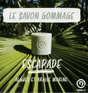 Le savon gommage sein pou vous et pour la planète fabriqué en Bretagne vendu par Erell cosmétique