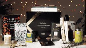 Offrir un coffret livres de la marque Kube pour un noël littéraire, français et éco-responsable