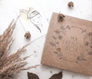 Carte Cadeau pour Ma French Box à offrir à noël pour une femme, edition pour tous les budgets