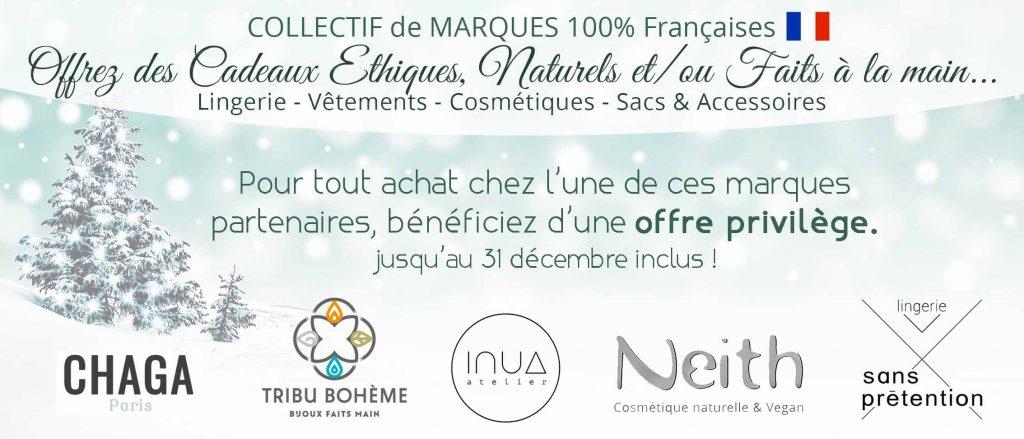 Notre collectif de marques 100% Françaises pour les fêtes !