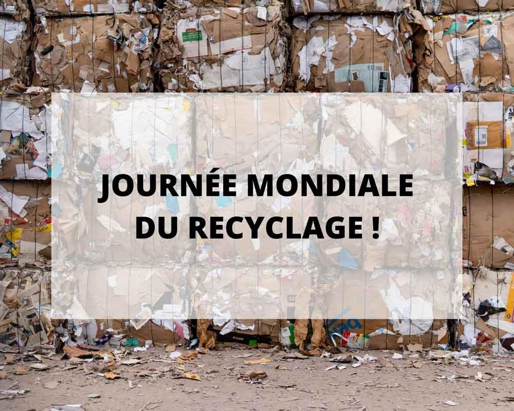 Sans Prétention lingerie fibres recyclées, nos actions pour la journée mondiale du recyclage.