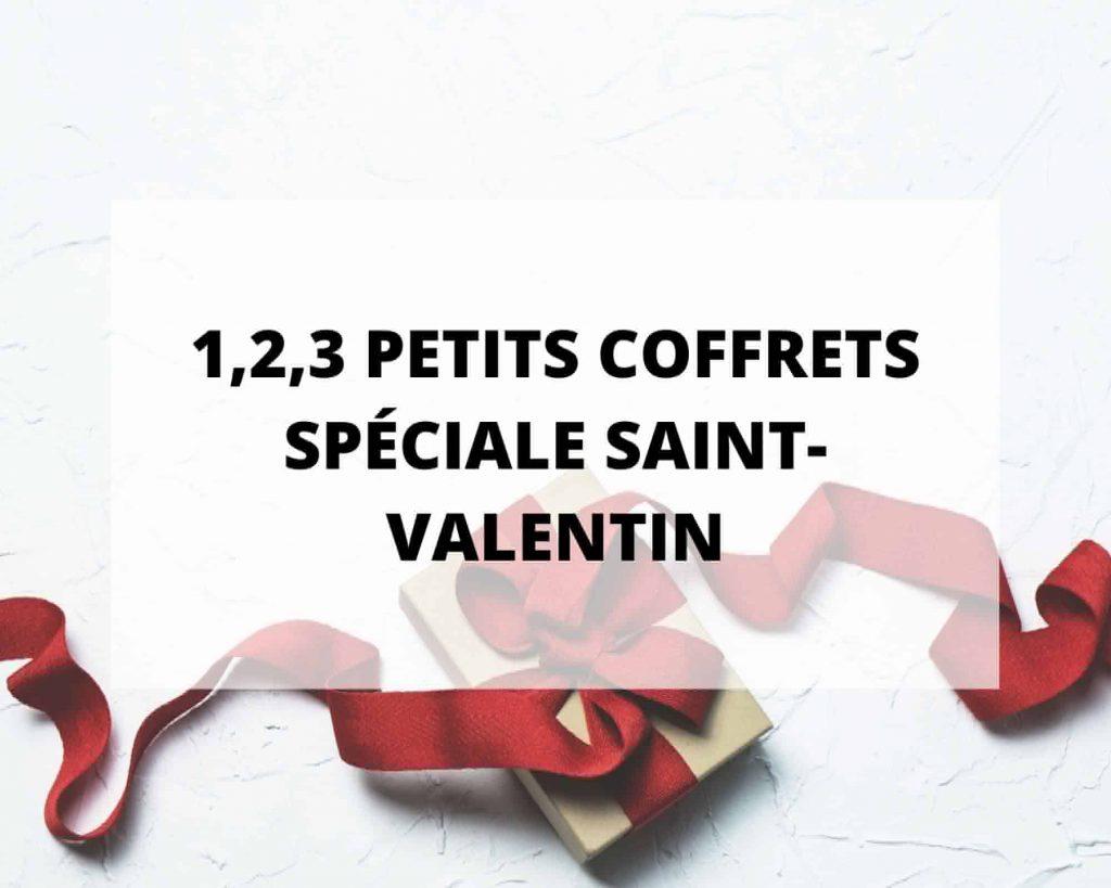 Coffrets cadeau de Saint Valentin avec Sans Prétention