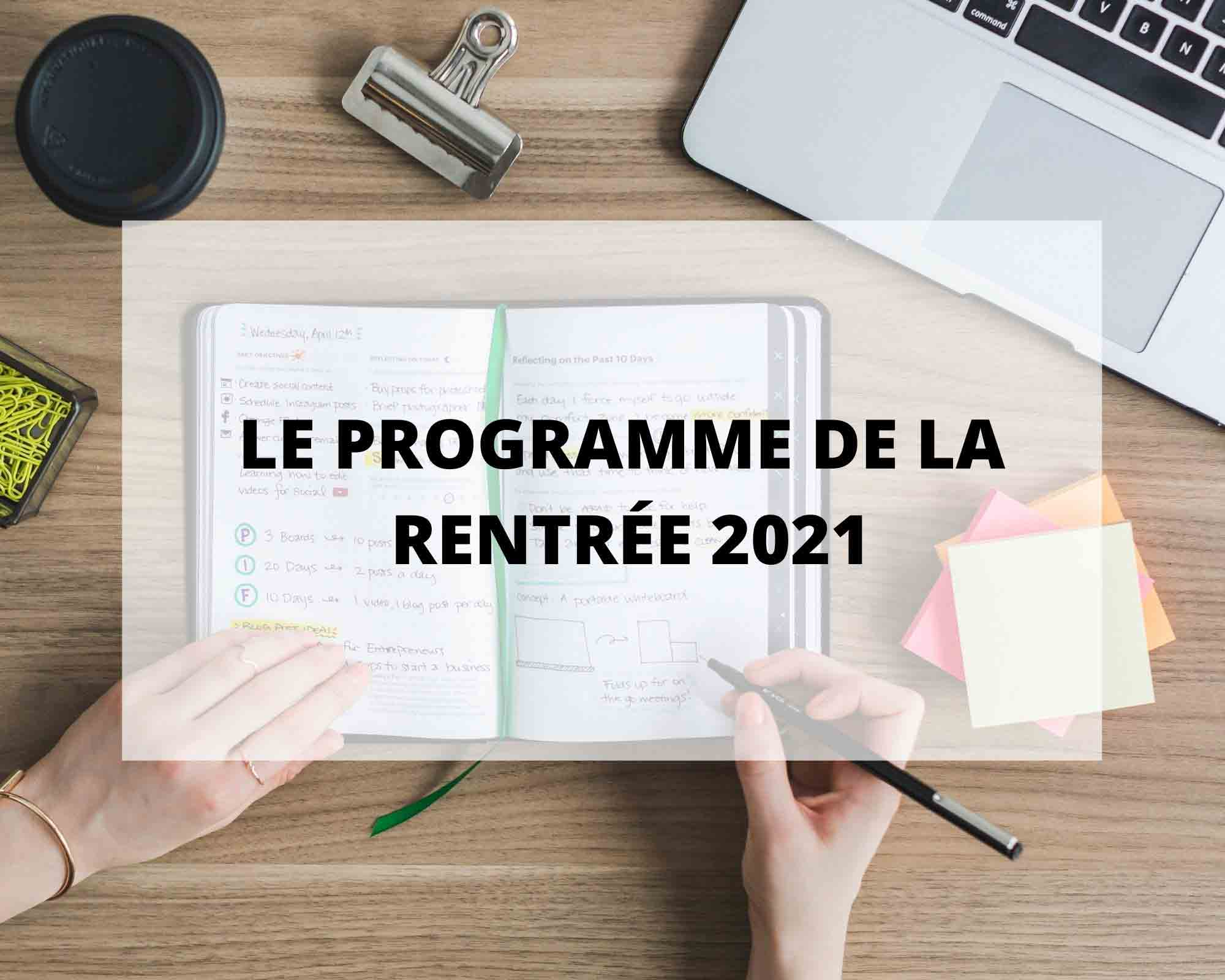 Le programme pour la rentrée 2021 de Sans Prétention, interview Europe 1, boutique éphémère à Paris et Nantes