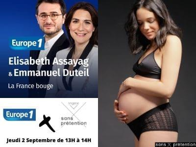 La rentrée 2021 chez Europe 1, interview de Sans Prétention dans La France Bouge le jeudi 2 septembre
